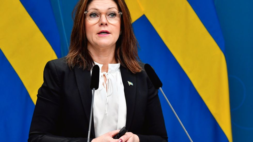 Arbetsmarknadsminister Eva Nordmark (S). Arkivbild