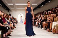 En Ralph Lauren-visning på New Yorks modevecka.