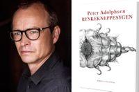 """Peter Adolphsen föddes 1972 i Århus. Hans senaste roman """"Rynkekneppesygen"""" utkom 2017."""