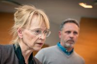 Åklagare Marianne Forsström och utredningsledaren Anders Pettersson vid Ekobrottsmyndigheten i Malmö kommenterar torsdagens dom gällande momsbedrägerier.