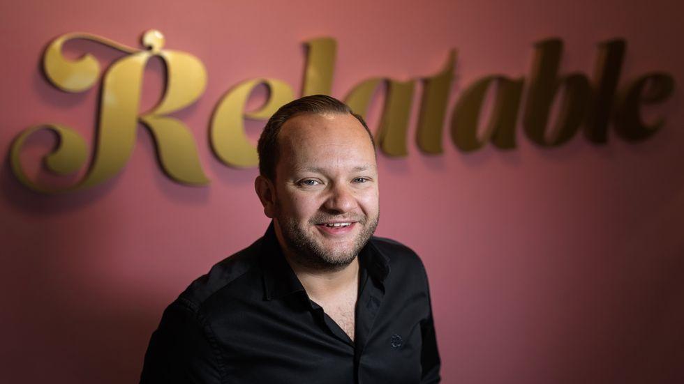 Martin Garbarczyk, vd för influencerbyrån Relatable.