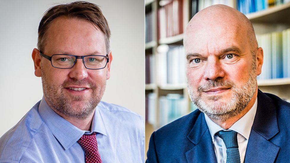 Lars Persson och Fredrik Sjöholm.