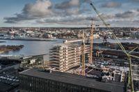 """""""Geely Innovation Center"""" på Lindholmen i Göteborg."""
