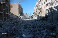 Antalet dödsoffer i Syrien 2019 var det lägsta sedan inbördeskriget började. Här bild från staden Aleppo 2016.