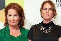 77 procent av alla nyhetspresentatörer är kvinnor. På bilden SVT:s nyhetsankare Anna Hedenmo, Nike Nylander och Lisbeth Åkerman. Arkivbild.