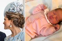 Madeleines och Chris O'Neills tredje barn – en liten prinsessa.