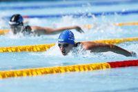 Det blir inget SM i simning i november. Arkivbild.