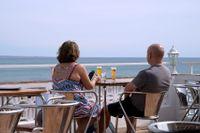 Nu går det bra att semestra i Portugal igen. Arkivbild