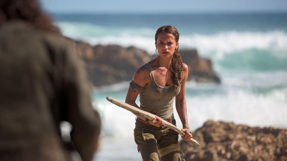 """Alicia Vikander i """"Tomb raider"""" från 2018. En roll hon kommer att reprisera, enligt Deadline. Pressbild."""