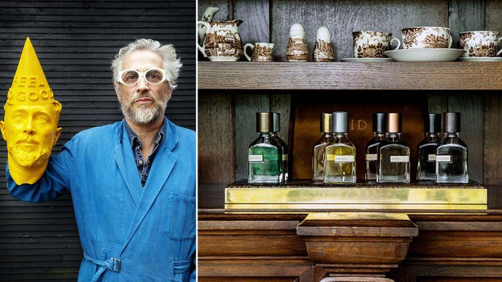Parfymören Alessandro Gualtieri ligger bakom märkena Orto Parisi och Nasomatto. Han kallas för The Nose.