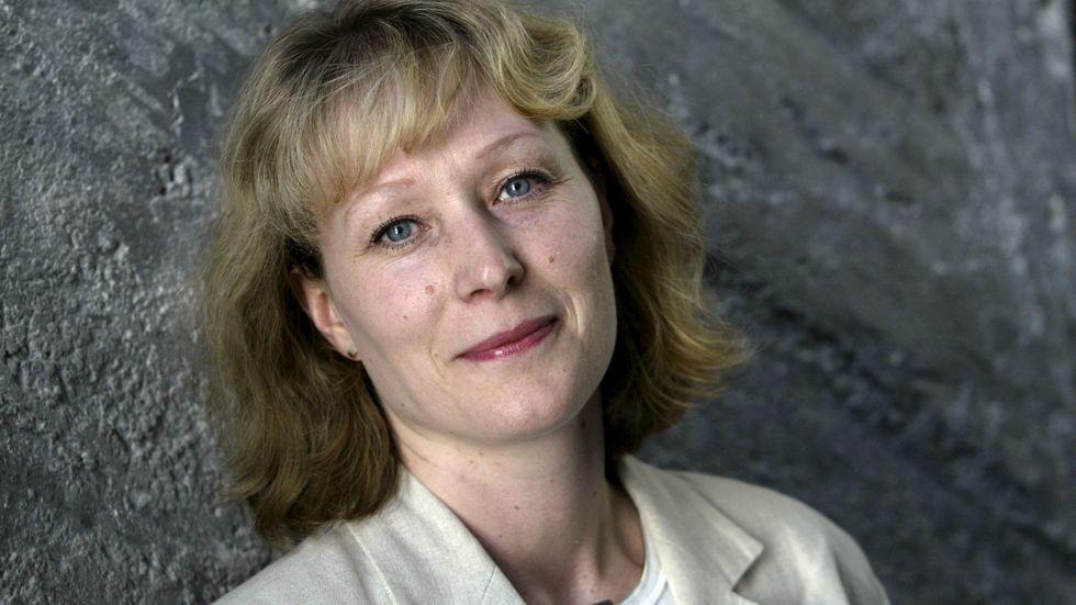 Jeanette Gustafsdotter, vd Tidningsutgivarna. Arkivbild.