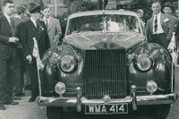 När drottning Elizabeths Rolls rullade i Stockholm