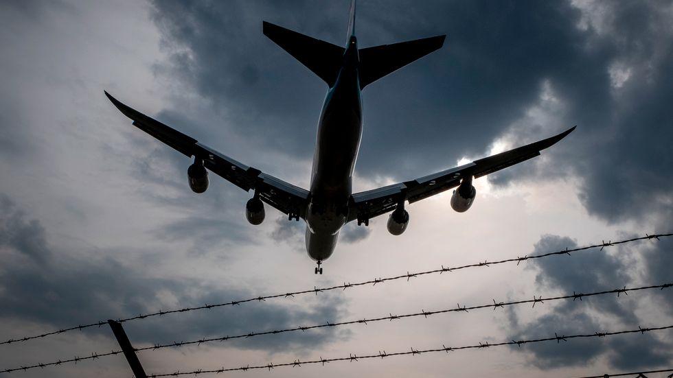 Flygplanstillverkaren Boeing redovisar vinst. Arkivbild.