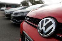 Mer än 450000 tyska bilägare kräver nu ersättning från Volkswagen. Arkivbild.