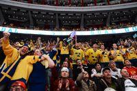 Nästan 30000 biljetter har sålts till ishockeyturneringen i Globen. Arkivbild.