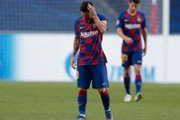 Lionel Messi vill lämna Barcelona. Arkivbild.