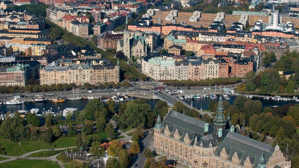 Östermalm i Stockholm.