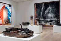 Sterling Ruby, 2019. Installationsvy på ICA, Institute of Contemporary Art, Miami.