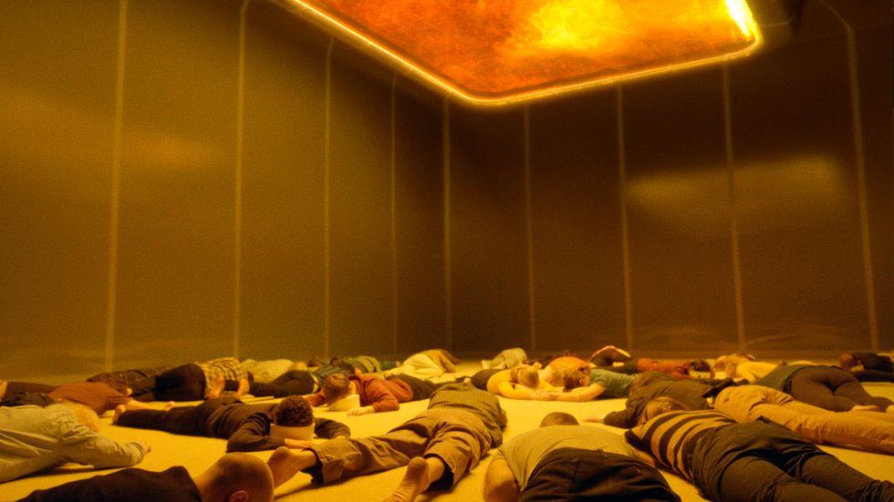 """Scen ur filmen """"Aniara"""", regisserad av Hugo Lilja och Pella Kågerman, som hade premiär i år."""