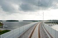 Stora järnvägssatsningar ska göras för klimatomställningen, bland annat meddelades på onsdagen att norra delen av Botniabanan ska skyndas på.