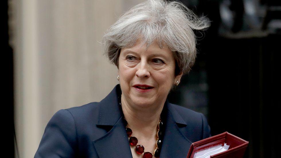 Premiärminister Theresa May har vunnit en viktig förtroendeomröstning i det brittiska parlamentet. Arkivbild.