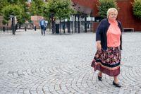 Under åtta år har hon varit statsminister och styrt Norge med stram hand. Men nu är epoken Erna Solberg över. Arkivbild.