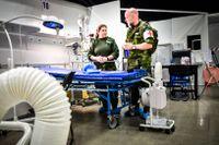 Beslutet om sjukhuset fattades av Region Stockholm tillsammans med Försvarsmakten.