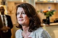Utrikesminister Ann Linde. Arkivbild.