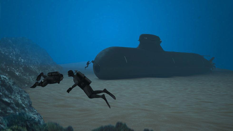 Regeringen hade hoppats kunna sälja den nya ubåten A26 (bilden) till Polen.