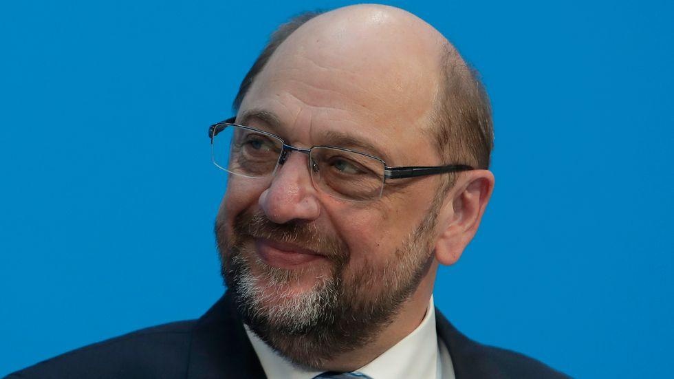 Martin Schulz, ledare för Socialdemokraterna (SPD).