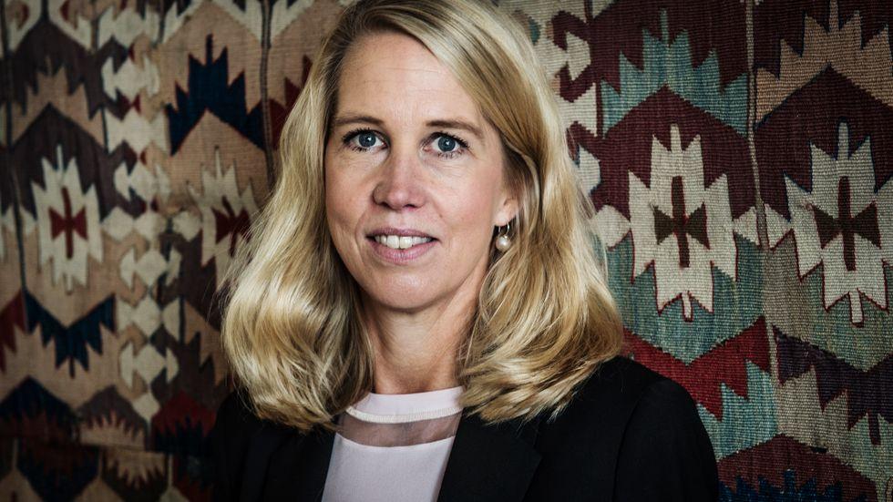 Andelen kvinnor i börsbolagens styrelser – som Industrivärldens Helena Stjernholm, som sitter i Sandviks och Volvos styrelse – blir marginellt fler. Men det gäller inte i de stora börsbolagen. Arkivbild.