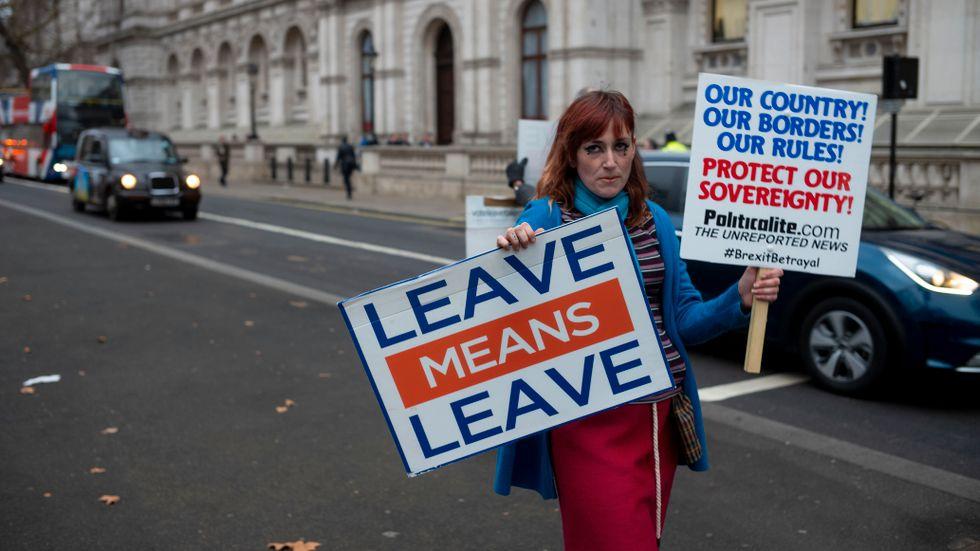 Försvara vår suveränitet står det på anti-EU-demonstrantens plakat – men tänk om det är just det som EU gör?