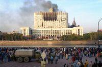 """Vita huset"" i Moskva 4/10 -93."