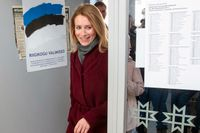 Kaja Kallas. Estlands nästa premiärminister?