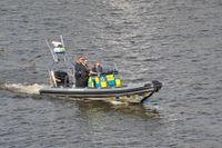 Polisen har fått tycka ut till en olycka mellan flera båtar i Solna. Arkivbild.