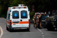Den kraftig explosion som under lördagen inträffade i ett bostadshus i centrala Milano tros bero på en metangasläcka. Bilden är från ett annat tillfälle. Arkivbild.