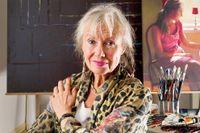Konstnären Karin Broos är aktuell med utställningen Still Life, som pågår till den 21 februari på Prins Eugens Waldemarsudde.