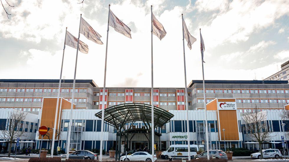 Mälarsjukhuset i Eskilstuna. Arkivbild.