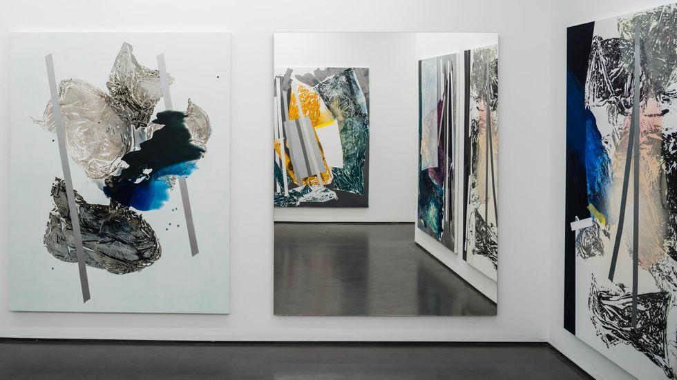 "Installationsvy ur Sigrid Sandströms ""Between us""."