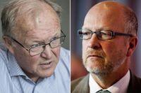 Göran Persson och Sven-Erik Österberg, ordförande för Finansinspektionen.
