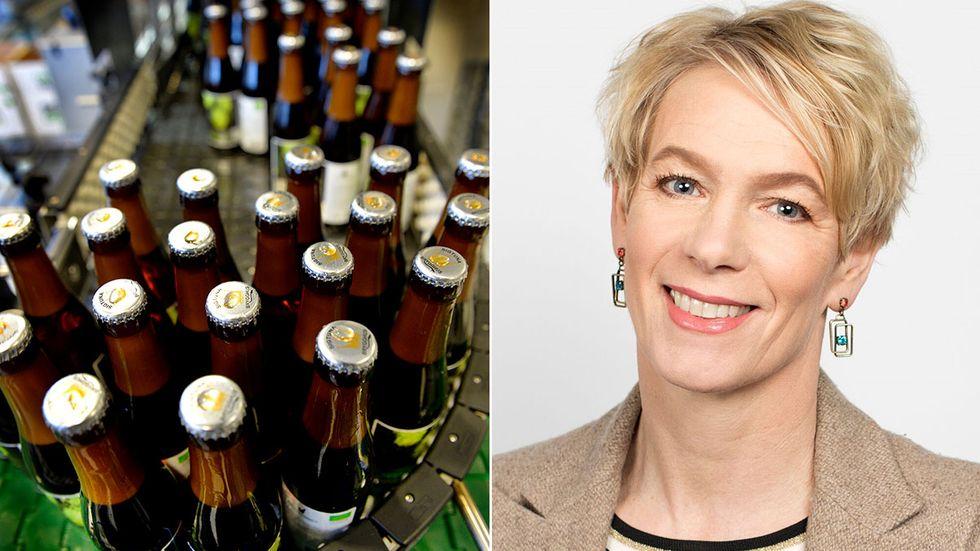 Anna-Karin Fondberg, vd på Sveriges Bryggerier.