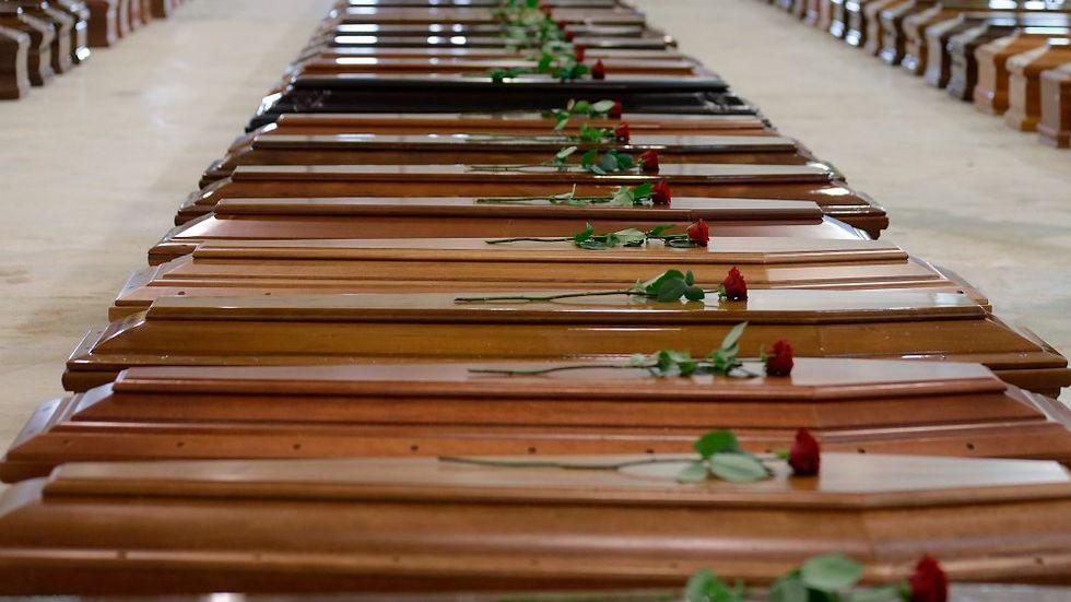 """Den 3 oktober 2013 drunknade 368 migranter utanför Lampedusa i Medelhavet. Ansvarig för den dödliga människosmugglingen ska ha varit """"Generalen"""" Medhanie Yehdego Mered."""