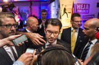 Sverigedemokraterna är tredje största parti i Sveriges riksdag.