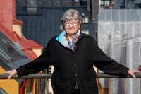 """""""Sociala medier är en av få saker som hjälper mig framåt just nu"""", säger Birgitta Jonsson."""