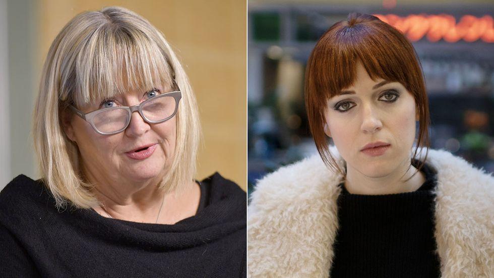 Justitiekansler Mari Heidenborg har väckt åtal mot Cissi Wallin.