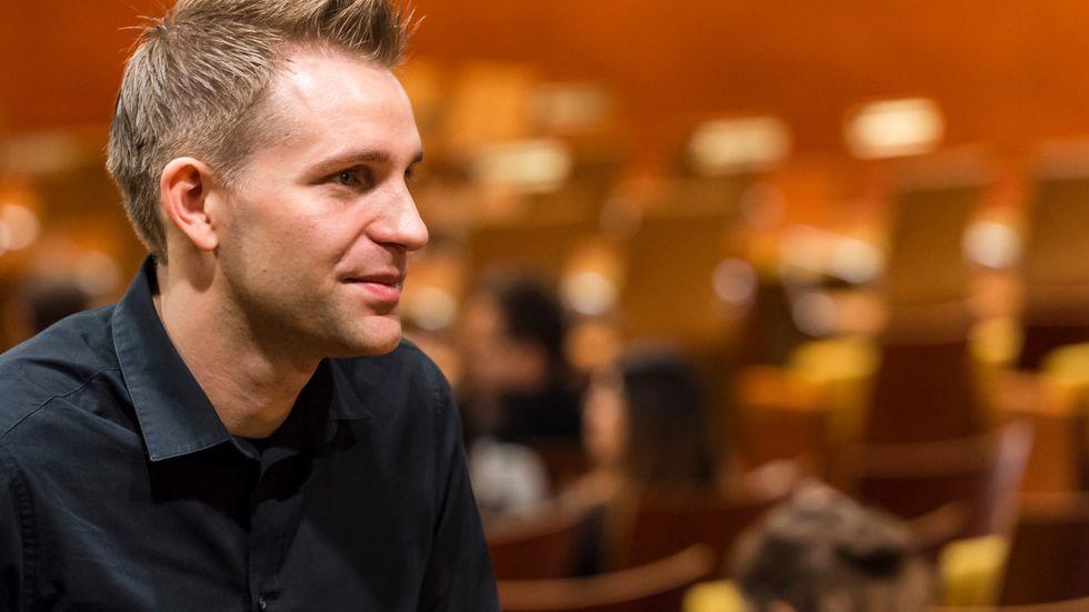 Österrikaren Max Schrems har i flera år kampanjat mot hur de stora nätjättarna samlar in och hanterar personuppgifter. Arkivfoto.