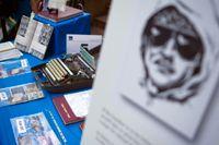 Una-bombaren Ted Kaczynskis tillhörigheter säljs på auktion 2011.