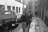Norra Smedjegatan (Jakobsgatan i bakgrunden) 1962.