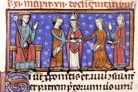 Östromerske kejsaren Justinianus, till vänster, gav namn åt pesten under tidig medeltid.