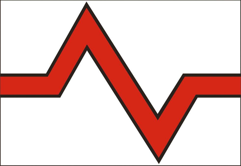 Konungariket Elgaland-Vargalands flagga.